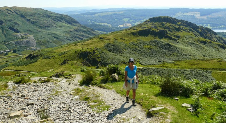 Sherri on Coniston